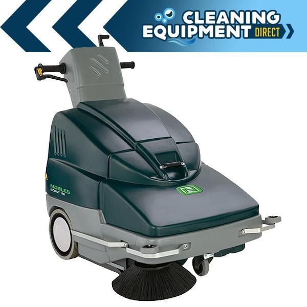 Nobles SCOUT 28 Battery Powered Walk Behind Sweeper