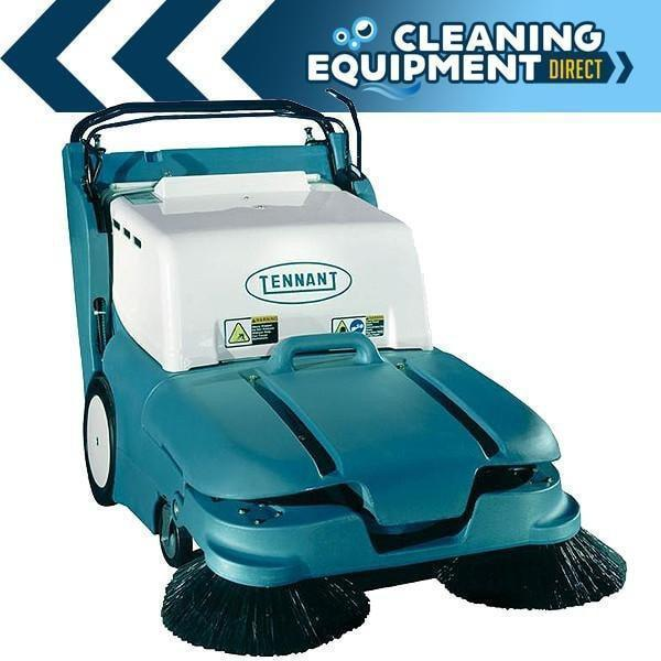 "Tennant 3640 32"" Battery Powered Mid-Size Walk-Behind Sweeper - Refurbished"