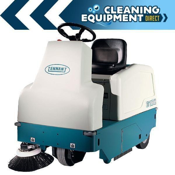 Tennant 6100 Battery Sweeper - Refurbished