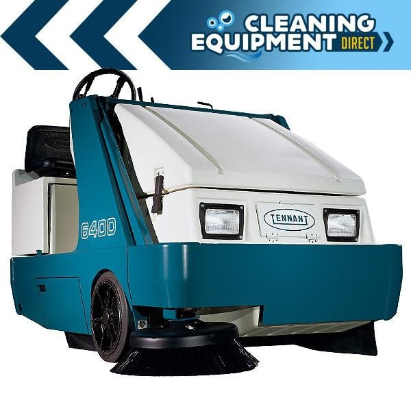 Tennant 6400 LPG Commercial Rider Sweeper