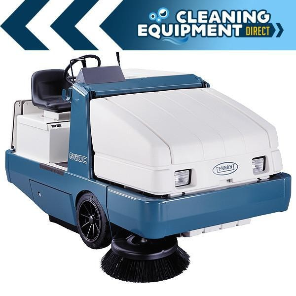 Tennant 6600 Cylindrical Propane Powered Rider Scrubber