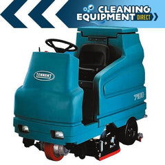 Tennant 7100 Battery Powered Cylindrical Rider Scrubber
