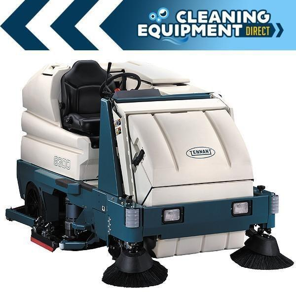Tennant 8300 Disc Sweeper Scrubber - Cleaning Equipment Direct