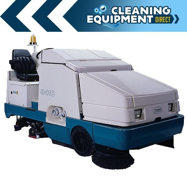Tennant 8410 Industrial Rider Sweeper Scrubber