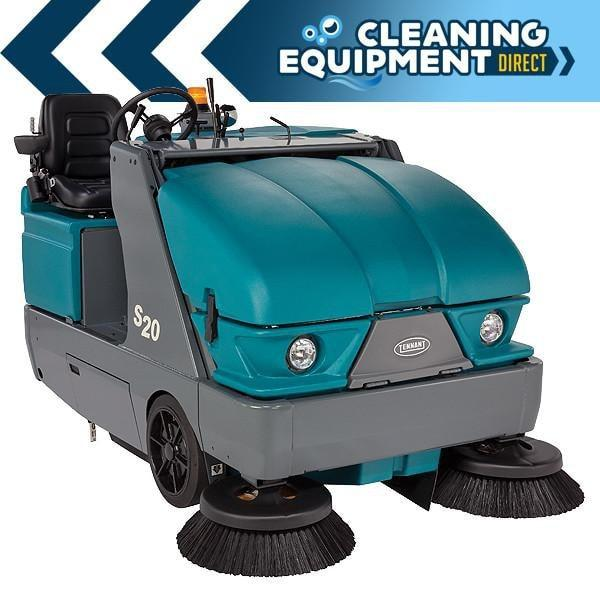 Tennant S20 Propane Powered Rider Floor Sweeper - Refurbished