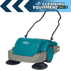 Tennant S3 Walk Behind Floor Sweeper