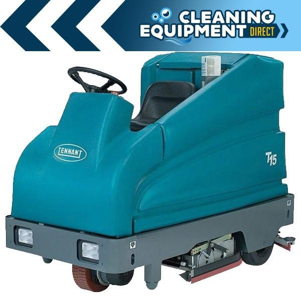 Tennant T15 Battery Powered Cylindrical Rider Scrubber