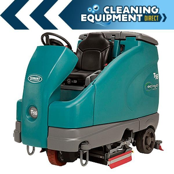 Tennant T16 Battery Powered Cylindrical Rider Scrubber