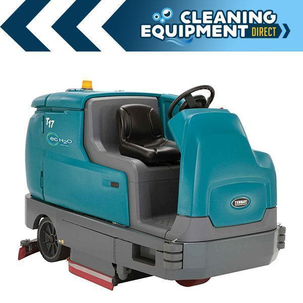 "Tennant T17 40"" Cylindrical Battery Rider Floor Scrubber- Refurbished"