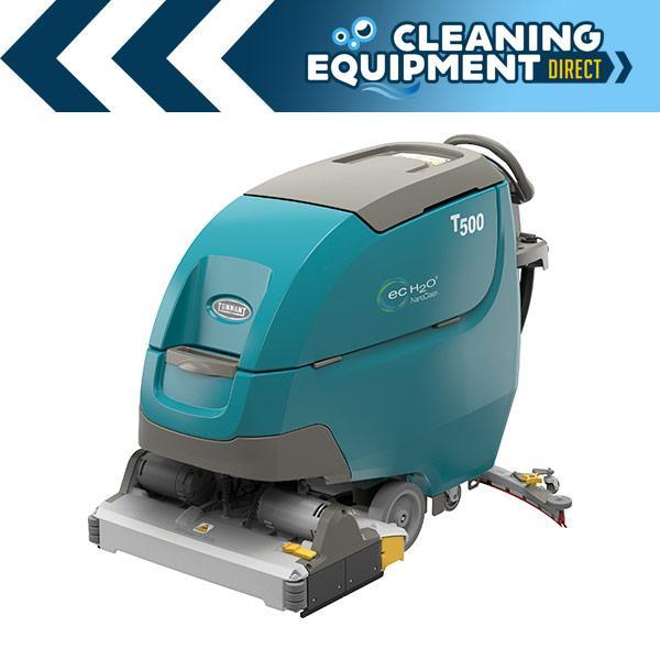 "Tennant T500E 28"" Cylindrical Battery Scrubber - Demo Unit"
