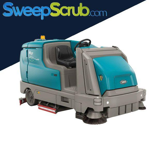 Tennant M17 High Performance Battery Rider Sweeper-Scrubber - Refurbished