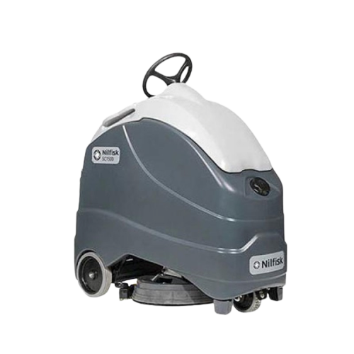 New & Used Nilfisk Advance SC1500 20D & REV Commercial Stand-Up Scrubber