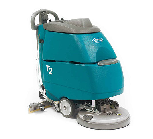 "Tennant T2 17"" Disk Battery Powered Scrubber - Refurbished"
