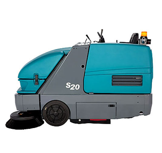 Tennant S20 Diesel Powered Rider Floor Sweeper - Refurbished