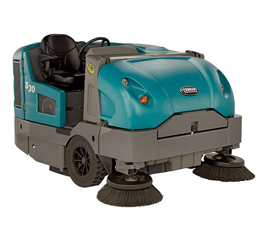 Tennant S30 Propane Powered Rider Sweeper - Refurbished