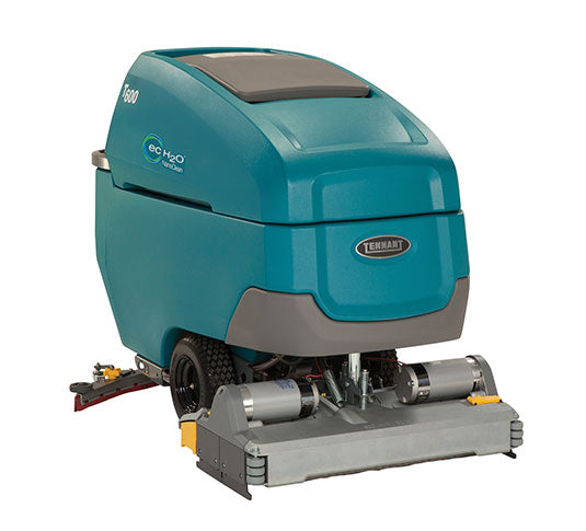 "Tennant T600 32"" Cylindrical Battery Powered Walk Behind Floor Scrubber - 2020 Demo Unit"