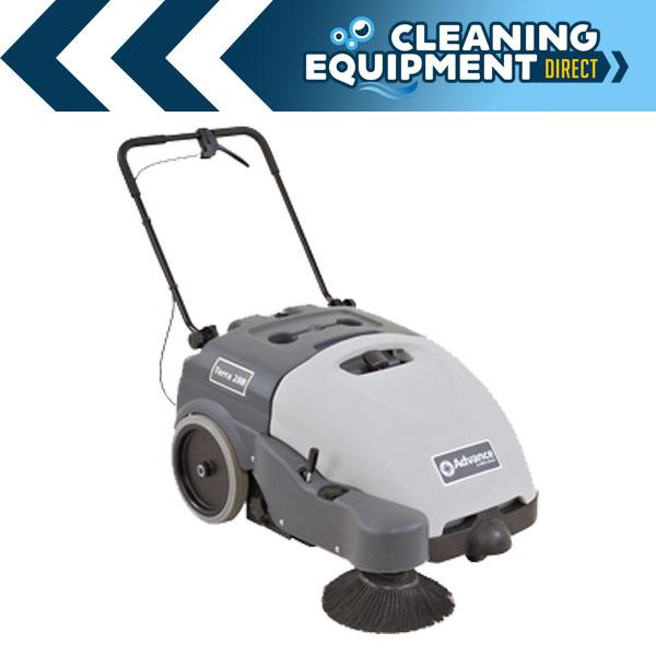 New Nilfisk Advance Terra 28B Industrial Floor Sweeper