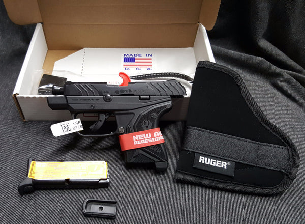 Winner JP Flagstaf, AZ. Lottory drawing for a new in box Ruger LCP II .380 Pistol w/knife