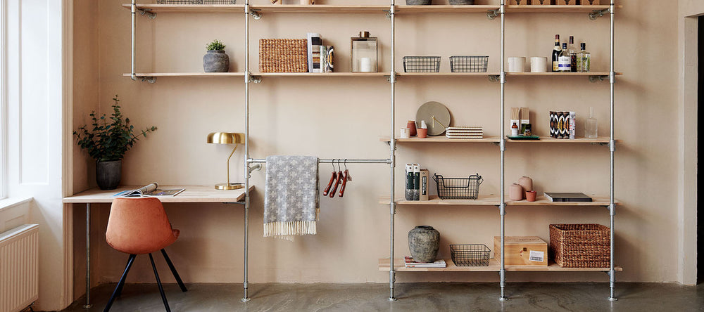 Wardrobe and storage solutions for every room of your house in a timeless industrial style