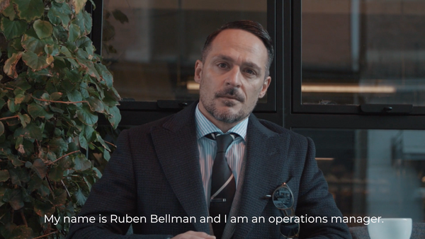 Ruben Bellman - Copenhagen's best dressed man