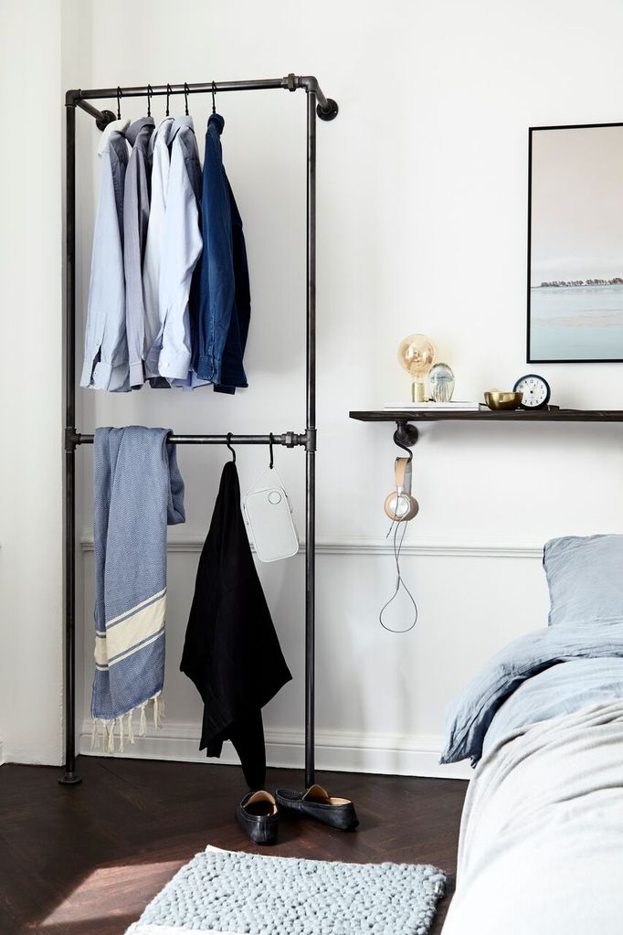 RackBuddy Bob Steele - smart clothes racks for bedroom interior