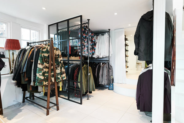Remee Jackman's walk-in closet
