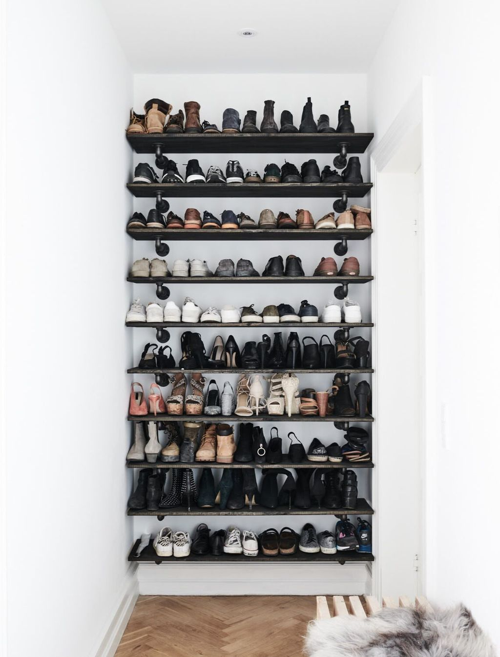 shoe shelf by RackBuddy