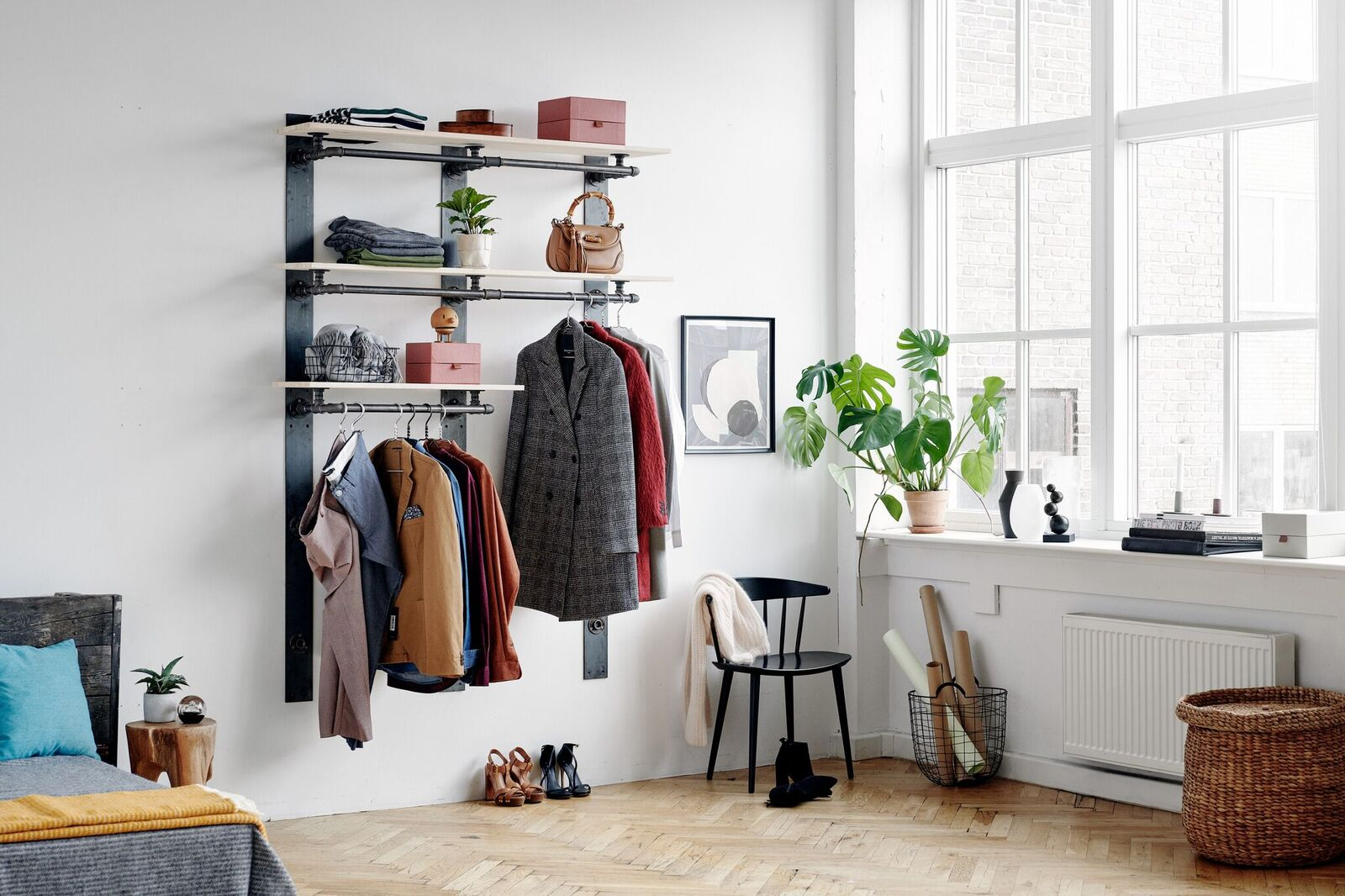 RackBuddy Elements collection - flexible wardrobe solution for your home or store