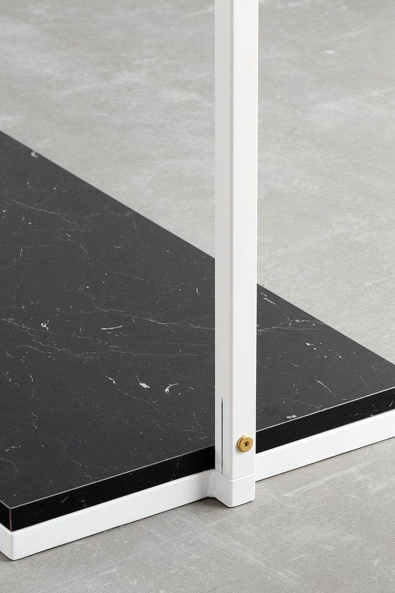 Black marble look shelf for RackBuddy Frame Collection