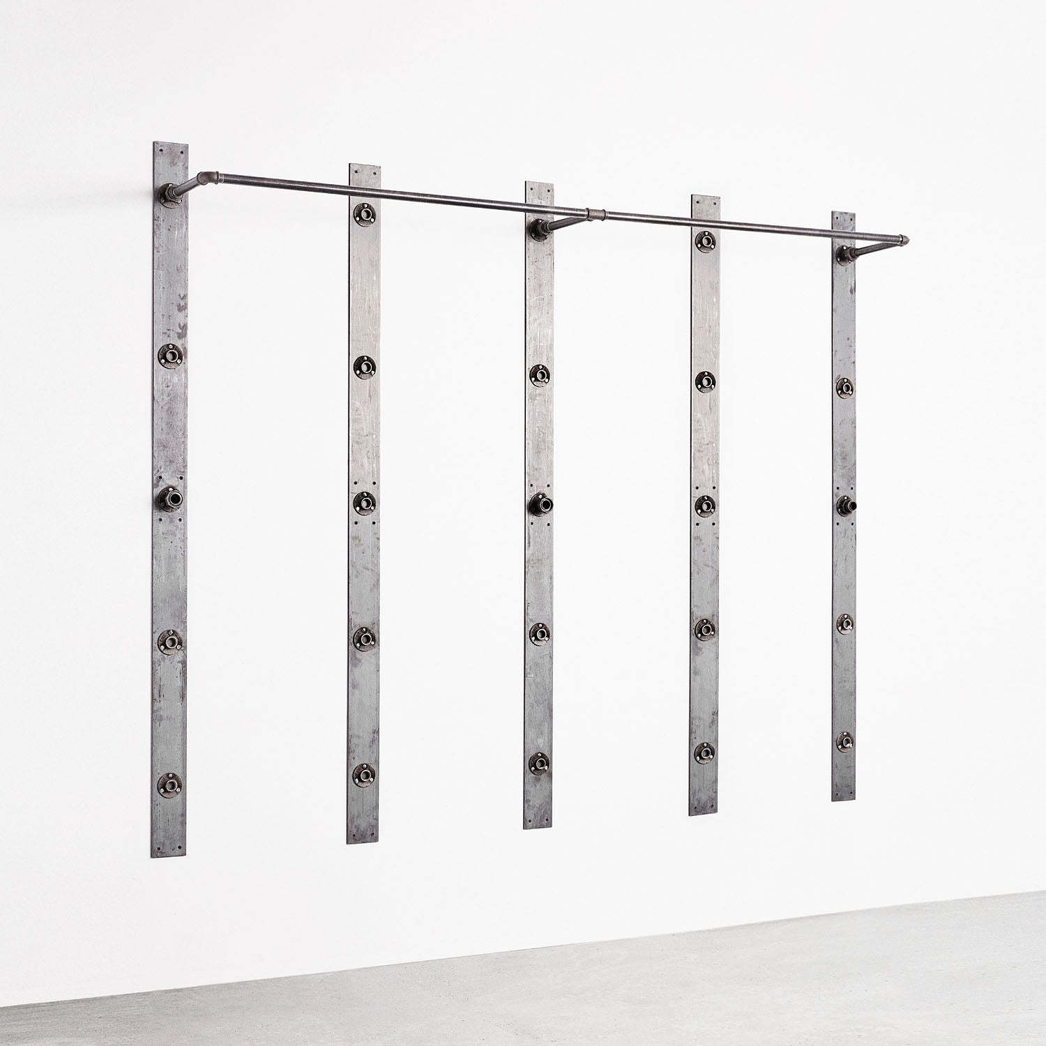 RackBuddy Elements – Double clothes rail for 5 bars