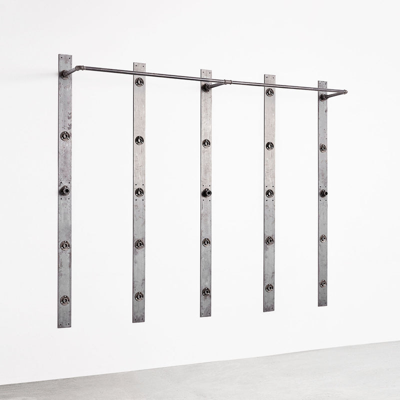 RackBuddy Elements - Double clothes rail for 5 bars