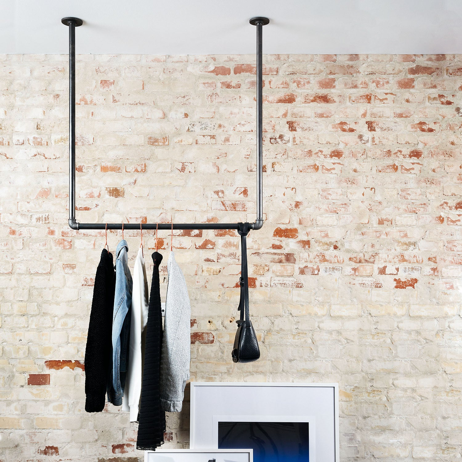 RackBuddy Joey – Ceiling-mounted clothes rail