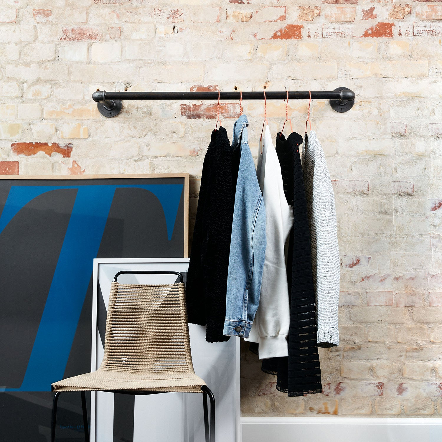 RackBuddy Joey – Wall-mounted clothes rail
