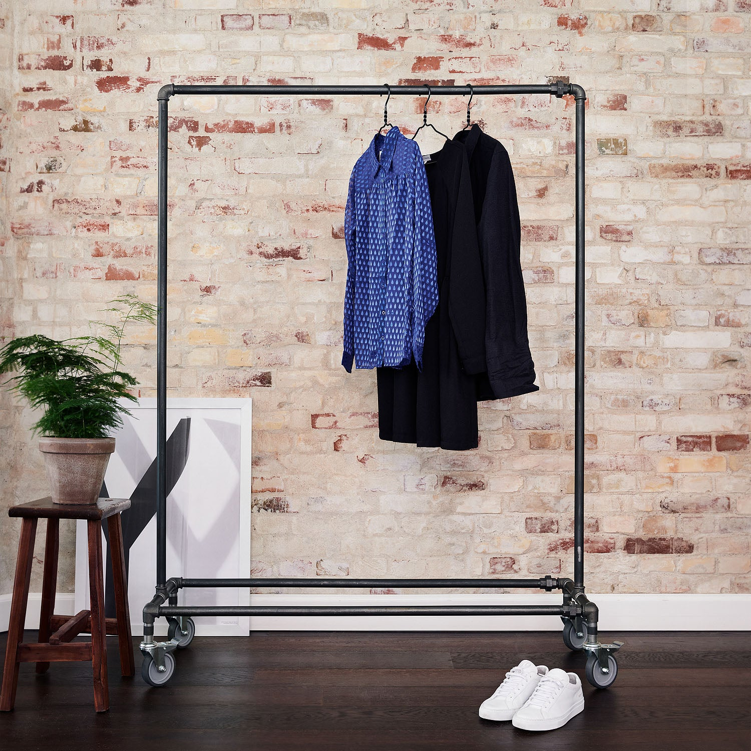 RackBuddy Ringo – Clothes rack with wheels