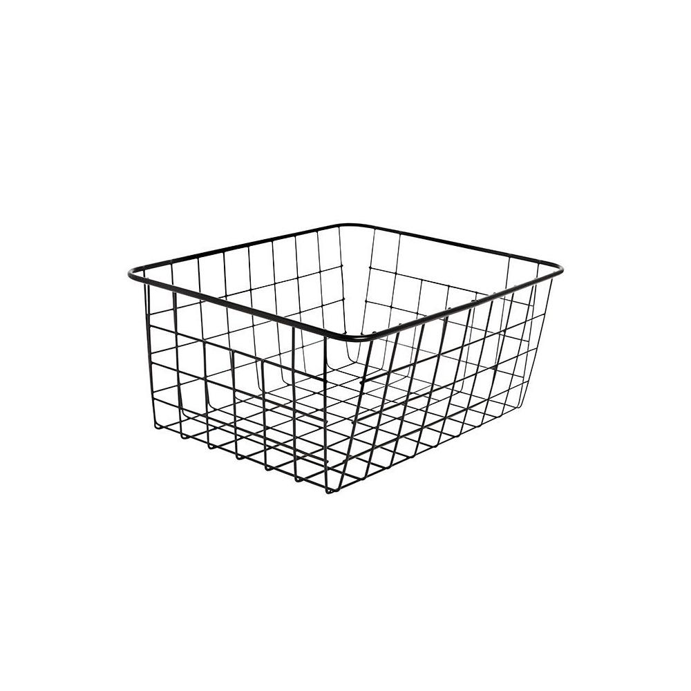 RackBuddy black basket – for underwear & socks