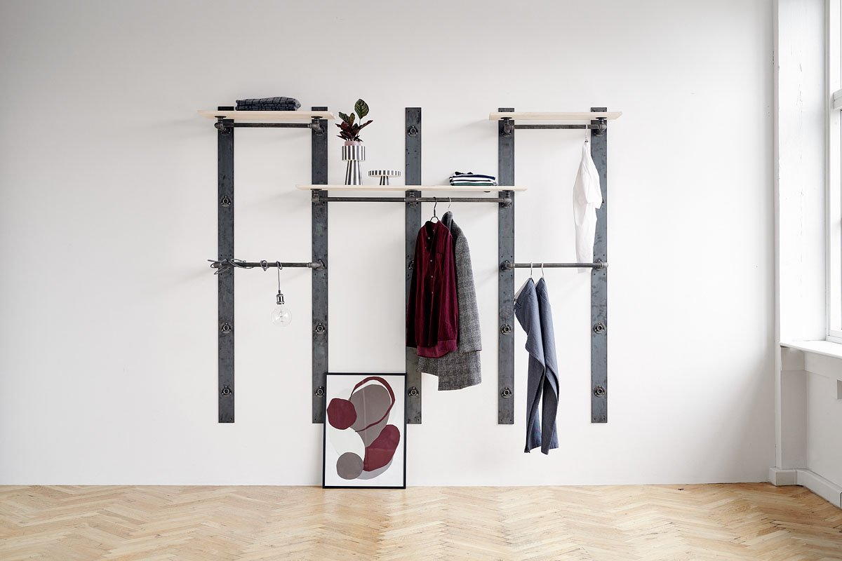 clothes rail for RackBuddy Elements Collection