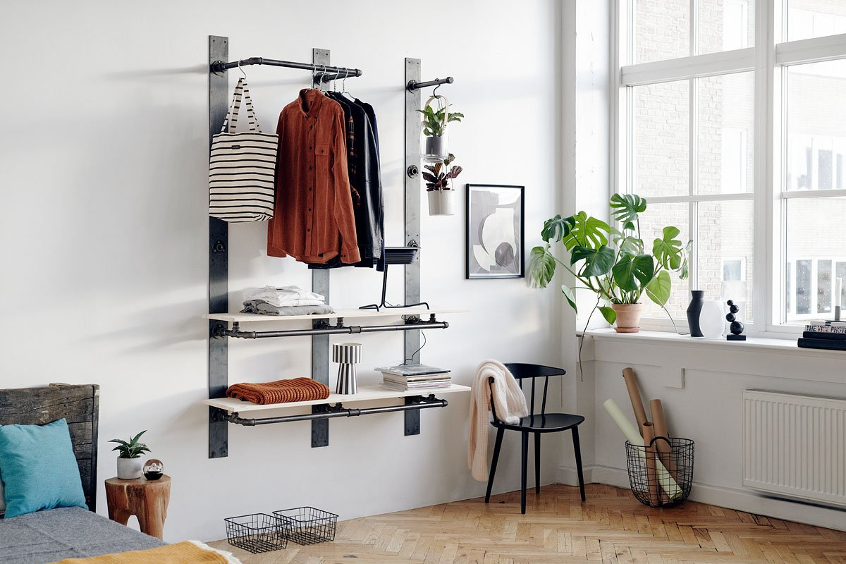 flexible storage solution for clothes, shoes, bags, books and decoration