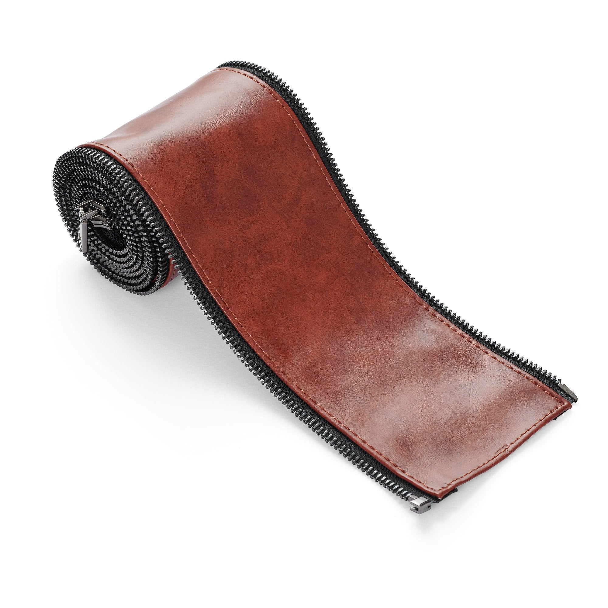 RackBuddy Leatherish - Dark brown sleeve for pipes