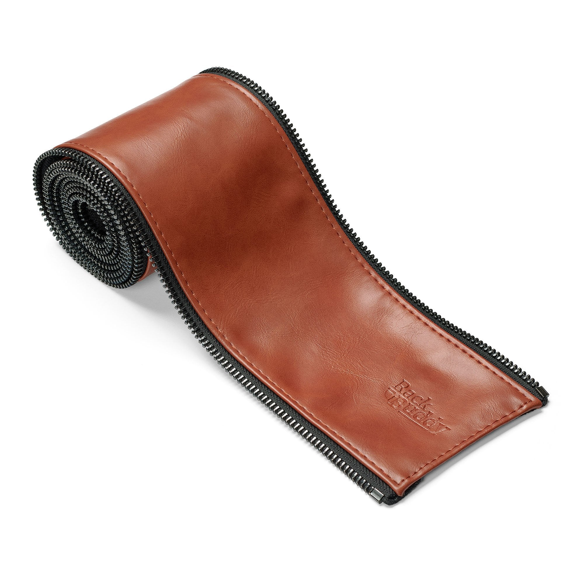 RackBuddy Leatherish - Light brown PU-leather sleeve