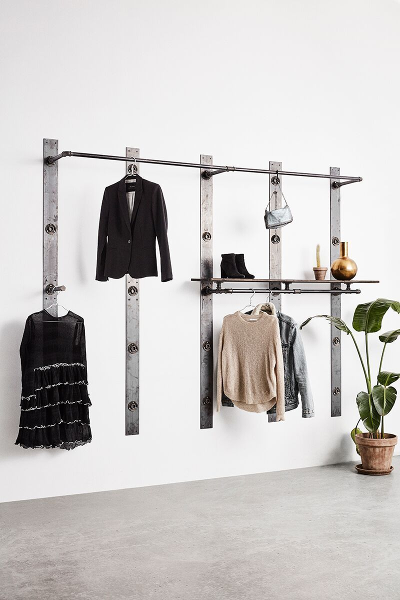 Rackbuddy Elements - walk in closet, without doors, open wardrobe, customisable, fast shipping