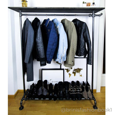 RackBuddy Billy – Clothes rack with shelf and hook