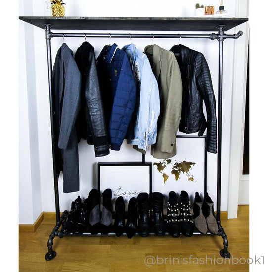 RackBuddy Billy - Clothes rack with shelf and hook