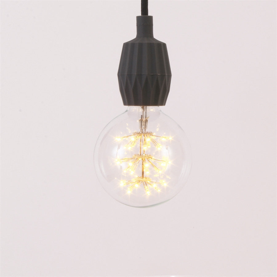 Decorative Hatstraw Lightbulb Ø95