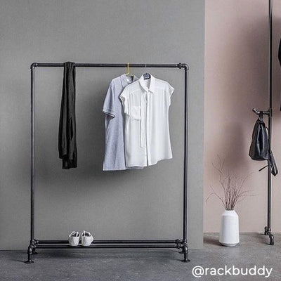 RackBuddy Clyde – Clothes rack with shoe shelf