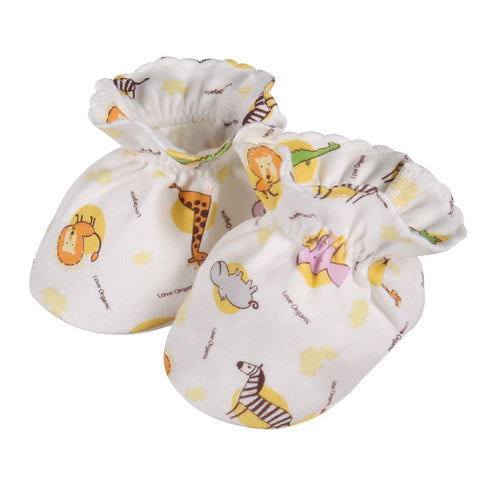 Animals Baby Booties (1 pair)
