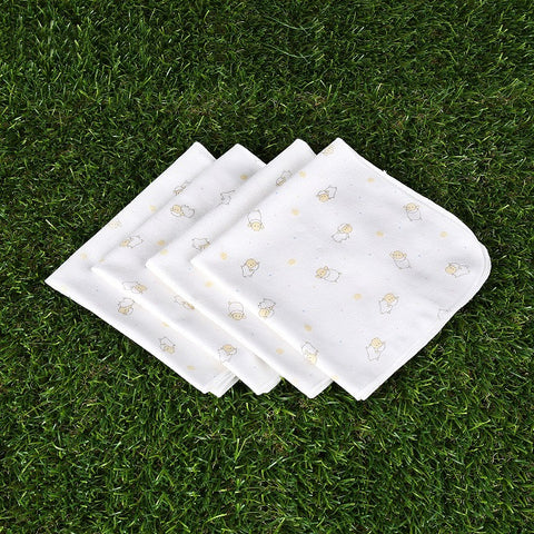 Little Lamb Hankies (4 pieces)
