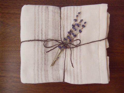 Organic Cotton & Natural Linen Towels