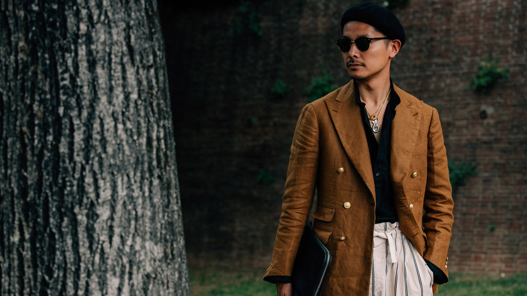 Fashionista: Summer Linen Looks, the Japanese Way.