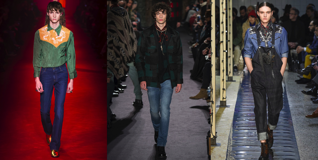 Menswear Trends Fall/Winter 2016: Wild Wild West
