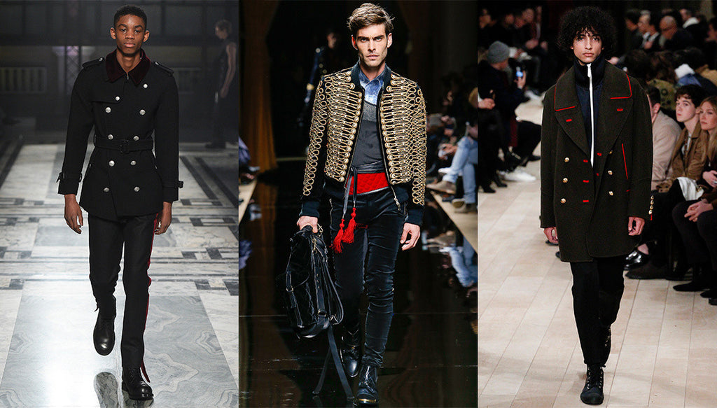 Menswear Trends Fall/Winter 2016: Regal Military